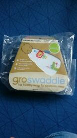 Gro swaddle, new with unopened packaging