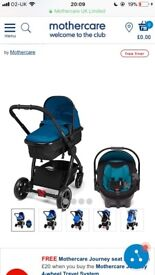 4 wheel journey travel system