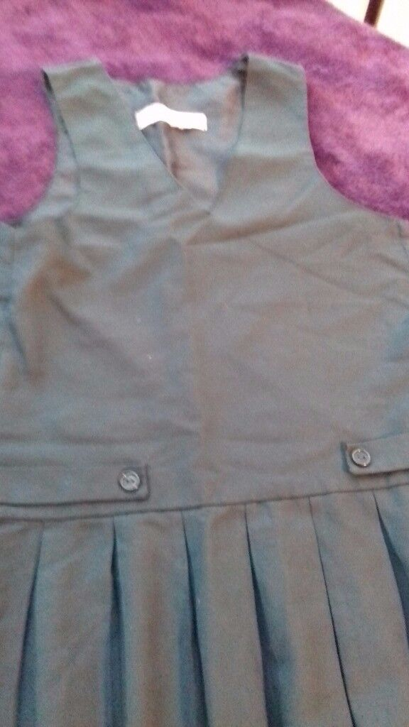 """PLYMOUTH COLLEGE PREP ~ TUNIC PINAFORE 32"""" LONG"""