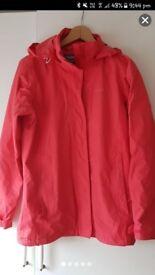Pink Regatta coat size 10