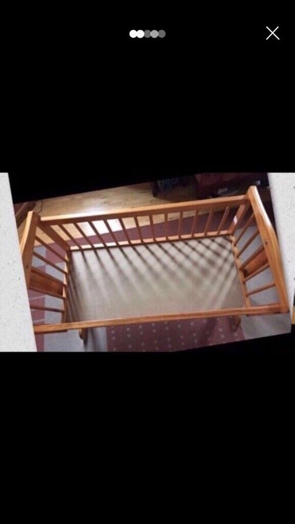 Toys R Us Swinging Crib Mattress Bedding Set In Great Yarmouth