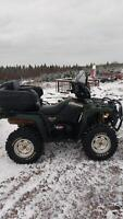 fully loaded Suzuki kingquad 700