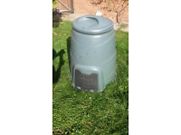 Compost Bin, Plastic, Large Green (80cm high, 70cm diameter)
