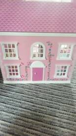 Doll house with furniture for sale