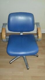 2 styling chairs, 1 basin chair for sale. Previously salon chairs