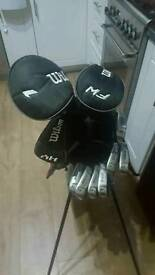 Golf clubs Wilson xl profile full set of clubs