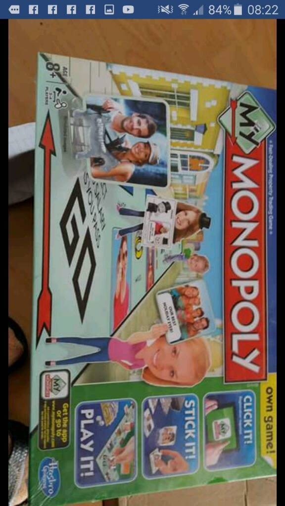 Hasbro gaming My Monopoly new still in sealed package