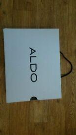 ALDO SHOE BOX - EMPTY - WHITE - FOR MEAVEN-97 SIZE UK 5.5