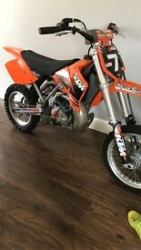 KTM65 07 year, good fast little bike runs and rides as it should, new bottom rebuild no time wasters