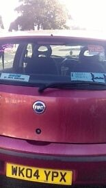 Fiat Punto. Red..2004.