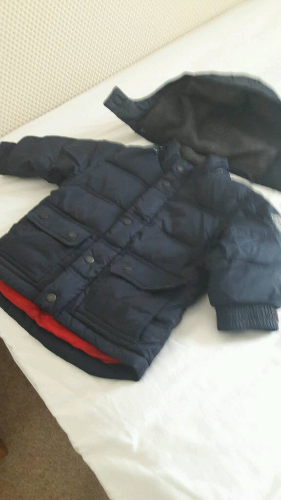 Lovely warm coat as freezing weather due