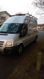 Ford transit T350 lwb trend 125bhp 7 seater imaculint condition