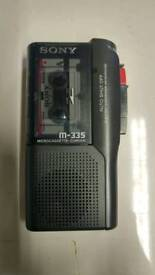 Dictaphone with free micro cassette