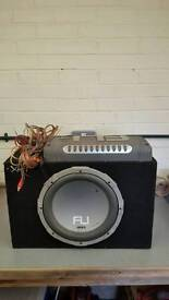 Fli sub, amp and wires