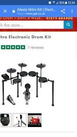 Alesis nitro electro drum kit