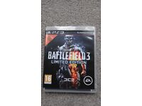 PS3 Battlefield3 limited edition