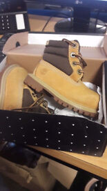Brand New infant size 4 Timberland Boots