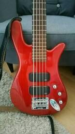 Warwick Rock bass 5 string