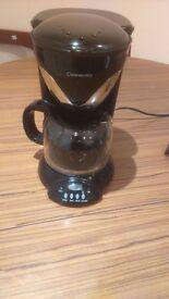 Cookworks Coffee Machine Black