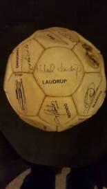 REAL MADRID SIGNED FOOTBALL