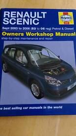 Renault scenic manual
