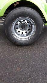 Chrome trike wheels