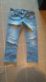 Blue Jeans Size 10-12 Medium
