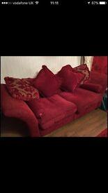 Large 3 seater & 2 seater sofa