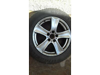 BMW X5 WHEELS AND TYRES 18 INCH 50 POUNDS EACH CHOICE OF 4