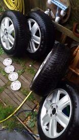 "Renault Alloy Wheel Set 16"" Megane/Scenic/Clio 4X"