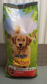 15KG Purina Friskies Dry Dog Food Variety | Active, Complete, Adult & Maxi