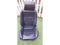 landrover freelander black leather 2004 drivers seat
