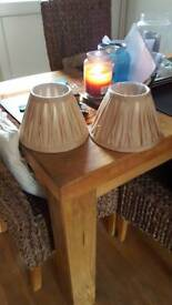 Small light shades