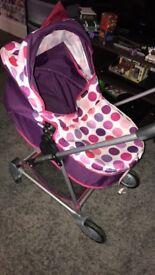 Toy pushchair