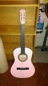 Pink Guitar as new