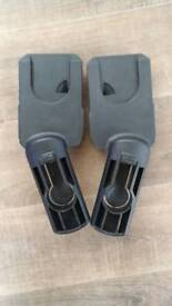 Quinny buzz adapters for maxi cosi car seats and dreami carrycot