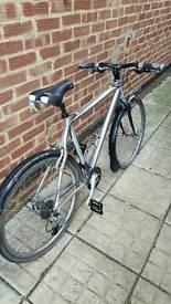 Custom made hybrid bike
