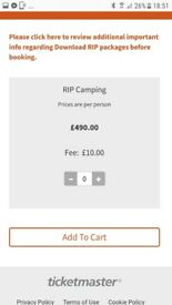 2 x Download RIP Camping 2018 tickets