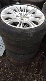 Bmw m sport alloy wheels r18