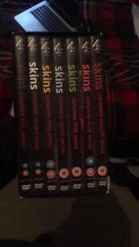 Skins/Mrs Brown's Boys Box sets.