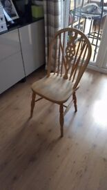 4 x wooden chair