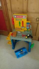 Tool Work Station FisherPrice Toy