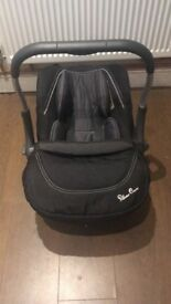 Silver cross simplicity car seat, never been in an accident
