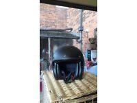 Brand spanking new Belfast Scorpion Motorbike Helmet, Size L and never been worn, colour black.