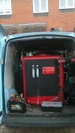 RO pure water cleaning system and van