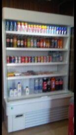Sunny 4 shelf open cooler