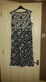 Debenhams Maine Dress Size 14