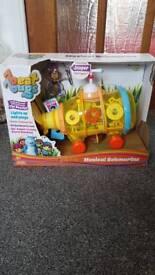 Brand new in box beat bugs musical submarine