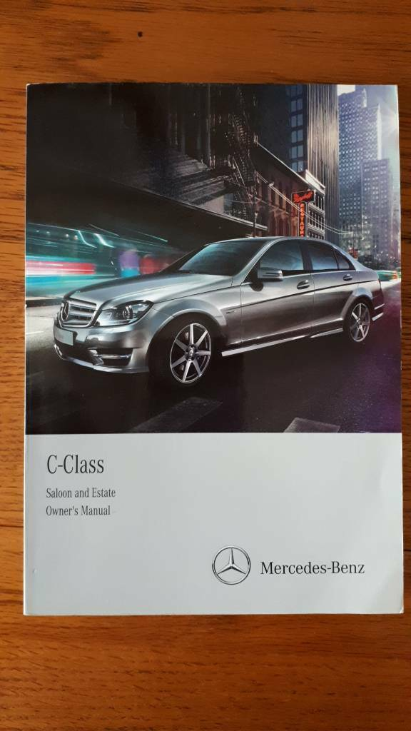 mercedes benz c320 owners manual
