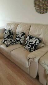 3 + 2 leather sofa for sale